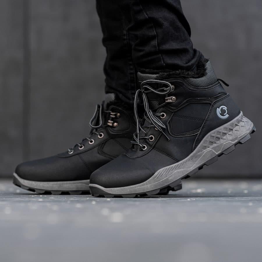Мужские зимние ботинки на меху 0970 - фото 3
