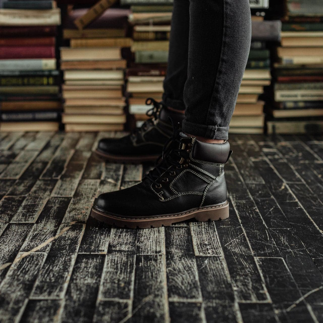 Ботинки South Graft black - фото 2