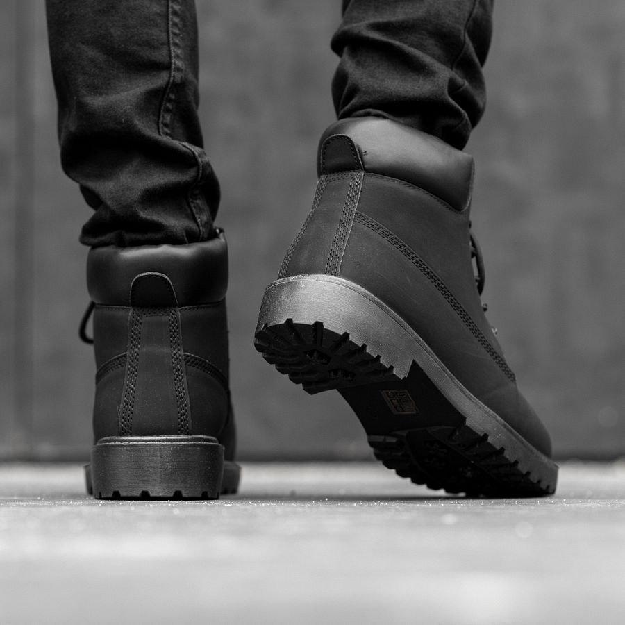 Мужские зимние ботинки на меху 0969 - фото 1