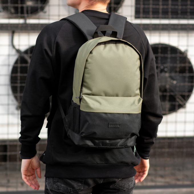 Рюкзак South Classic black\khaki - фото 1
