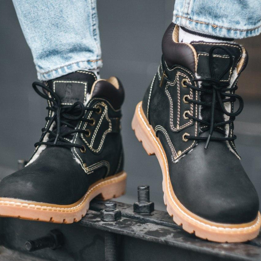 Ботинки South walker black