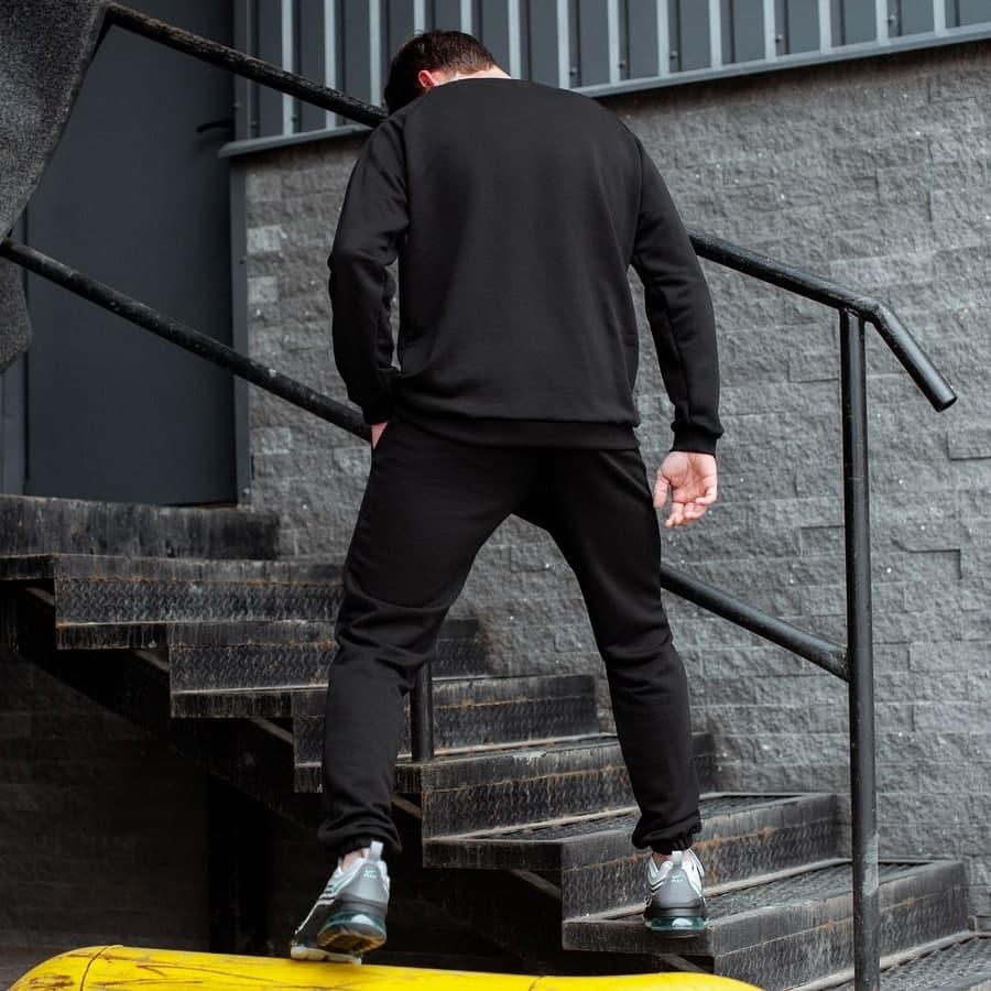 Спортивный костюм South basik black (свитшот c манжетом) - фото 2