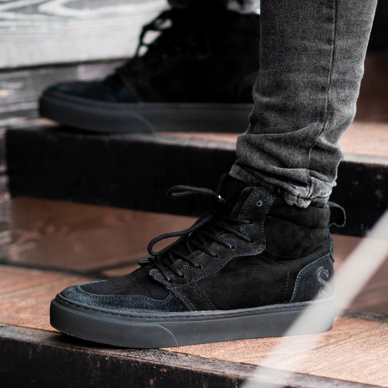 Ботинки South Ferro black - фото 1