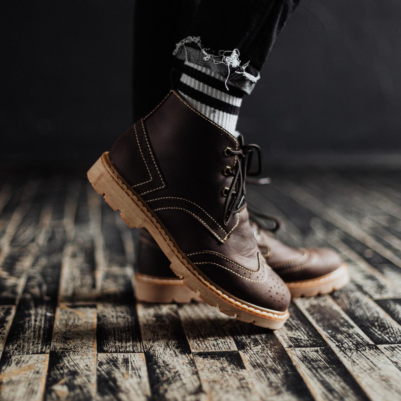 Ботинки South Rebel brown - фото 3