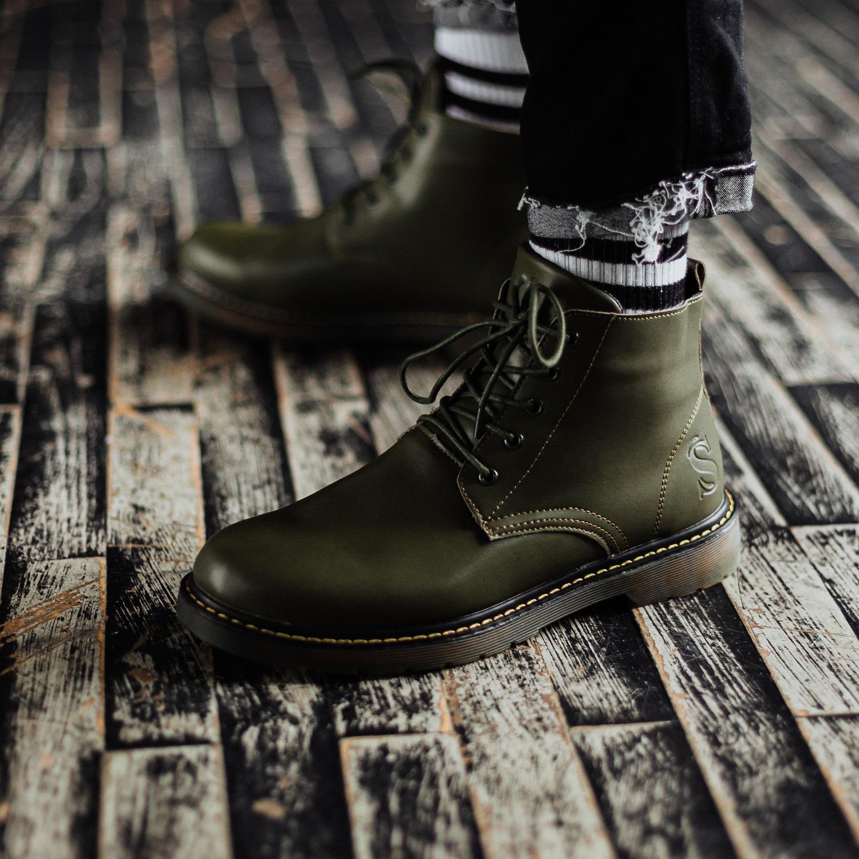 Ботинки South Warfare green
