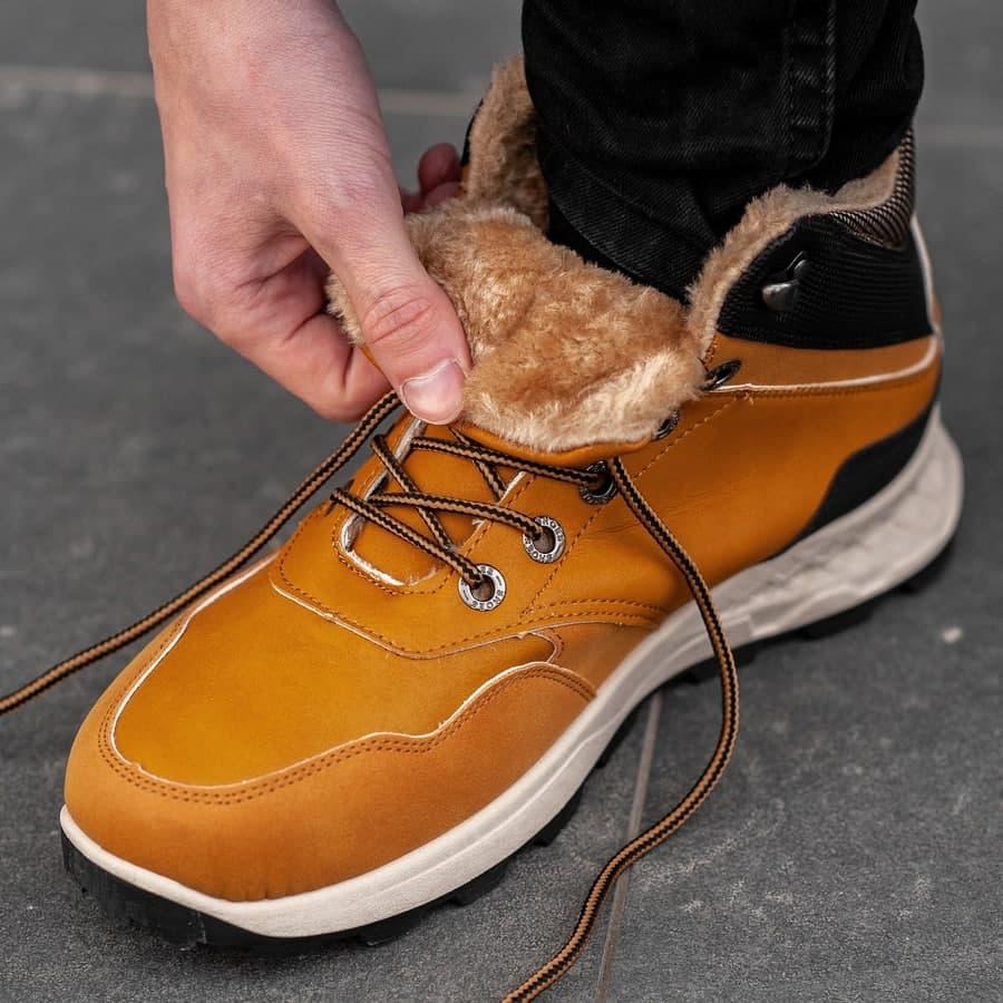 Мужские зимние ботинки на меху 0973 - фото 5