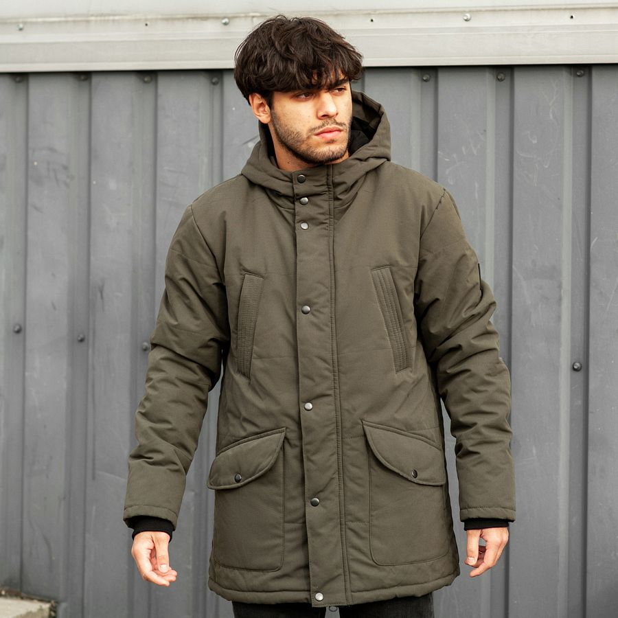 Зимняя парка South originals khaki winter
