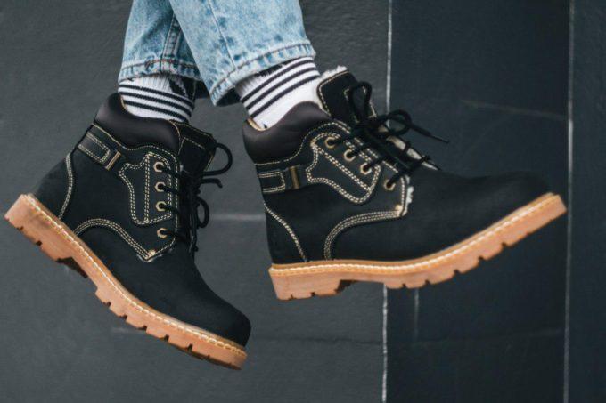 Ботинки South walker black - фото 1