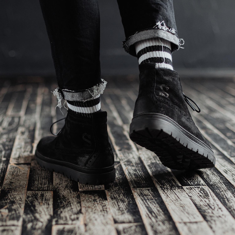 Ботинки South mist black - фото 4