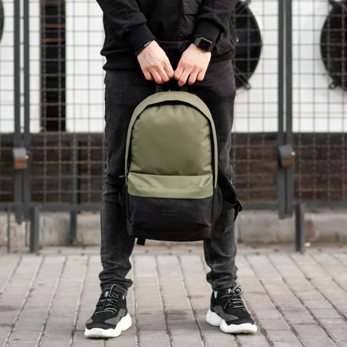 Рюкзак South Classic black\khaki - фото 2