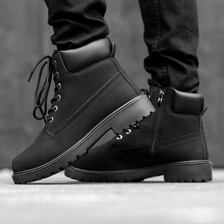 Мужские зимние ботинки на меху 0969 - фото 3