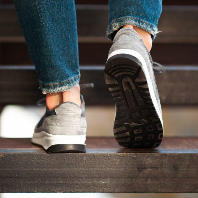 Кроссовки South Soft Step gray - фото 2