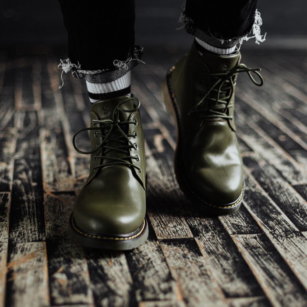 Ботинки South Warfare green - фото 2