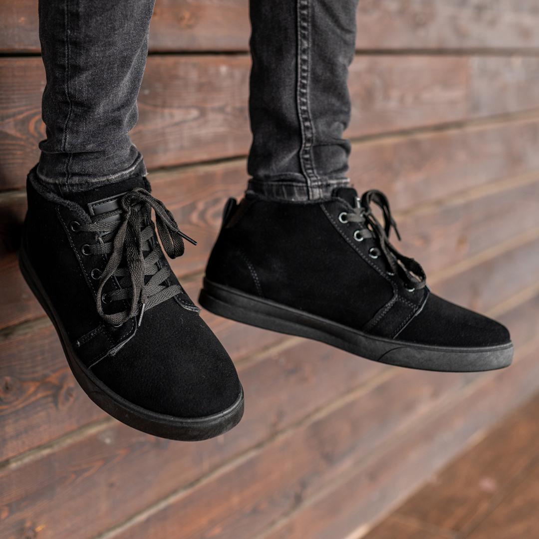 Мужские зимние ботинки на меху 1035