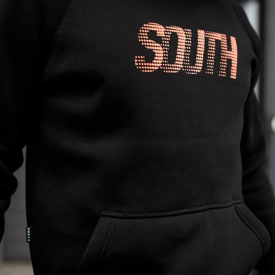 Худи logo South  fleece  - фото 2
